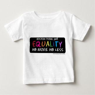 Bebé T de la igualdad Remera