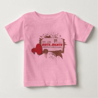 Bebé T de los alborotos Camisas