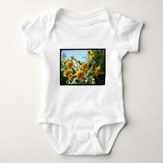 Bebé T-dhirt del girasol Poleras