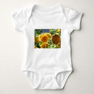 Bebé T-dhirt del girasol Remeras