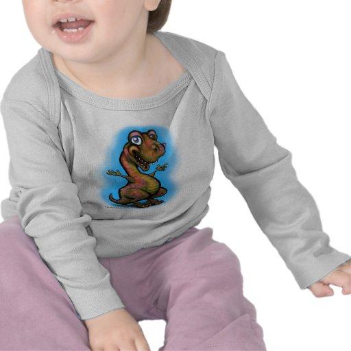 Bebé T-Rex Camisetas