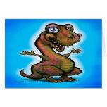 Bebé T-Rex Felicitacion