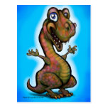 Bebé T-Rex Postales