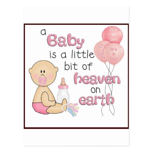 bebé tarjetas postales