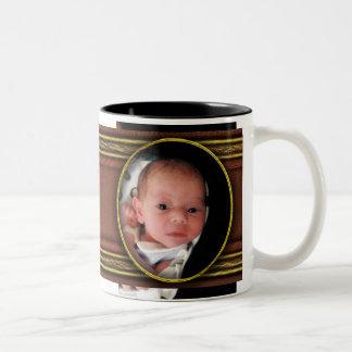 bebé taza de dos tonos