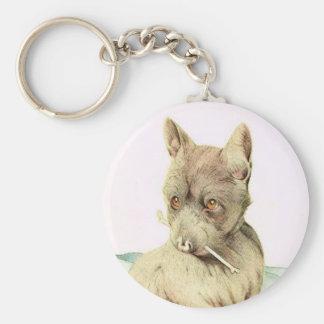 ¡Bebé Terrier escocés - LINDO ESTUPENDO! Llavero Redondo Tipo Pin