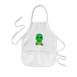 Bebé Tortuga Delantal Infantil