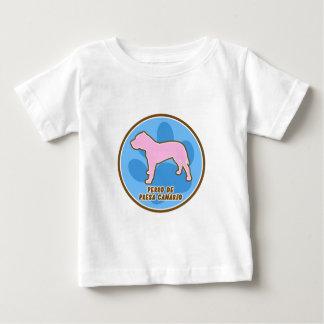 Bebé Trendy Perro de Presa Canario Camisetas