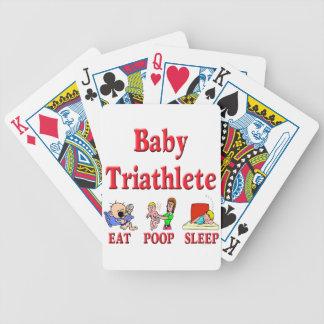 Bebé Triathlete Baraja De Cartas