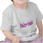 ¡Bebé-tude! para los chicas Camiseta