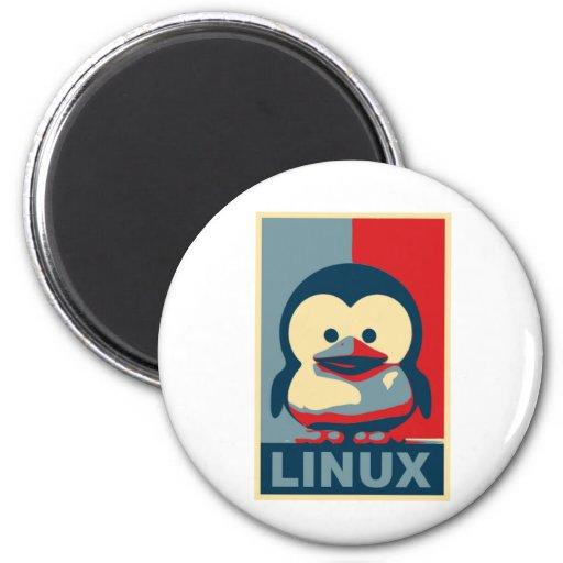 Bebé Tux Linux Iman Para Frigorífico