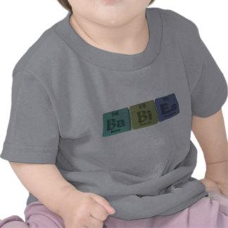 Bebé-Vago-BI-Es-Bario-Bismuto-Einsteinio Camiseta