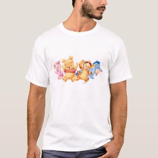 Bebé Winnie the Pooh y amigos Playera