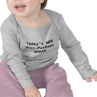 Bebé WOD: Mini-Pectorales Camiseta