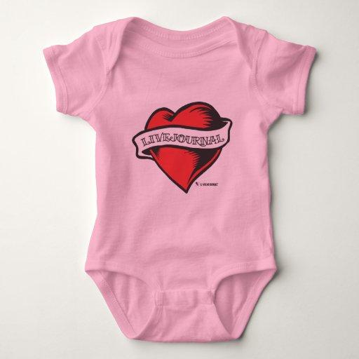 Bebé y niño (tatuaje de LiveJournal) Tee Shirt