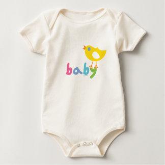 Bebé y polluelo por el pájaro de Andi Enteritos