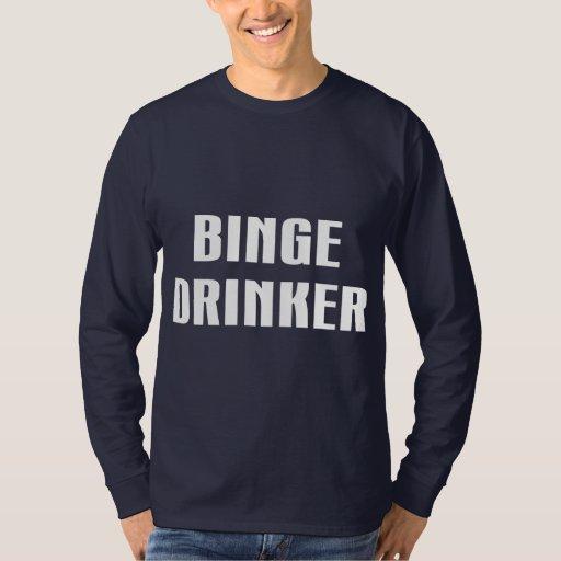 Bebedor de Binge Playera