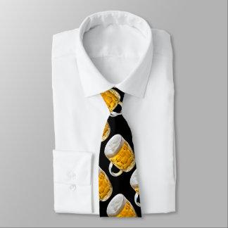 Bebedor de cerveza de las alegrías corbata personalizada