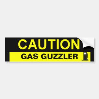 BEBEDOR DEL GAS DE LA PRECAUCIÓN PEGATINA PARA AUTO