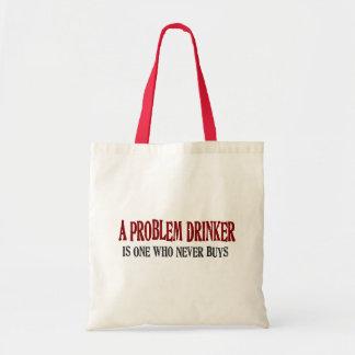 Bebedor del problema bolsa