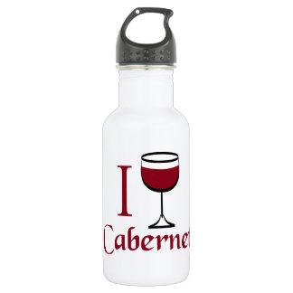 Bebedor del vino de Cabernet