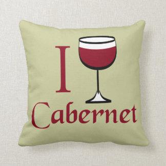 Bebedor del vino de Cabernet Cojín