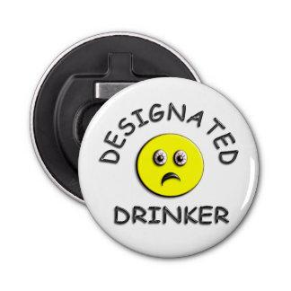 Bebedor señalado abrebotellas redondo