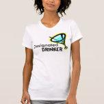 Bebedor señalado camisetas