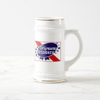 Bebedor Stein de la calzada Jarra De Cerveza