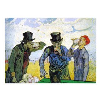 Bebedores de Vincent van Gogh Anuncio Personalizado
