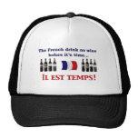 Bebedores del vino francés gorras
