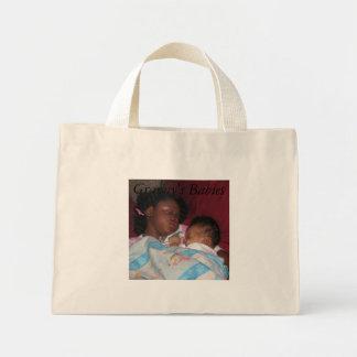 bebés, bebés de Momma, durmiendo, los bebés de la  Bolsa Tela Pequeña
