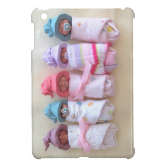 Bebés de la arcilla, gorras del duende, el dormir,