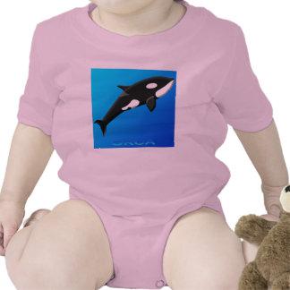 Bebés de la orca traje de bebé