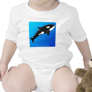 Bebés de la orca trajes de bebé
