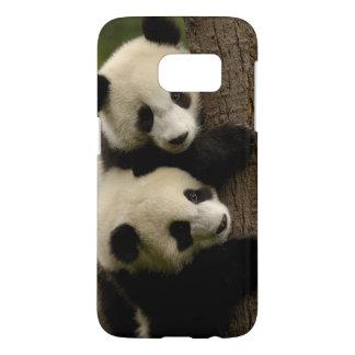 Bebés de la panda gigante (melanoleuca del funda samsung galaxy s7
