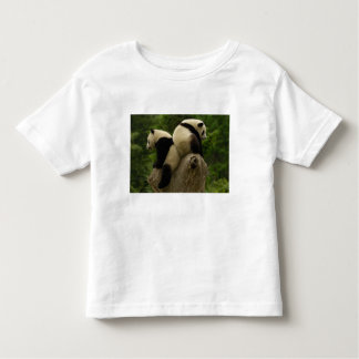 Bebés de la panda gigante (melanoleuca del remeras