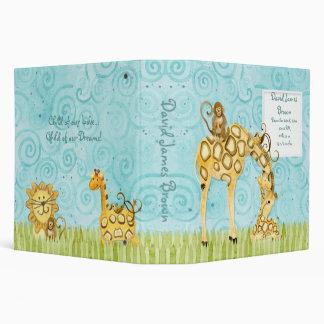 "Bebés de la selva, libro de recuerdos de la carpet carpeta 2"""