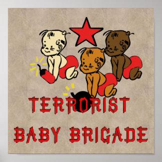 Bebés de los terroristas impresiones