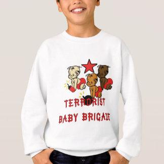 Bebés de los terroristas sudadera