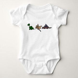 Bebés del dinosaurio body para bebé