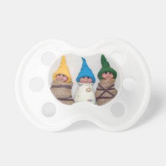 Bebés del duende: Arcilla del polímero: Esculturas Chupete De Bebé