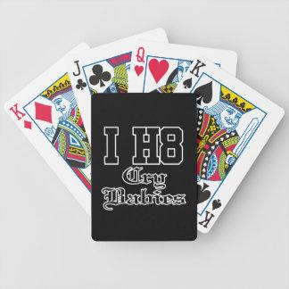 bebés del grito baraja de cartas
