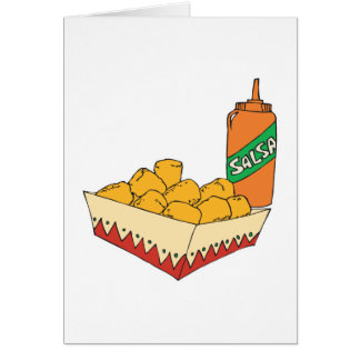 bebés del tater de la patata con salsa