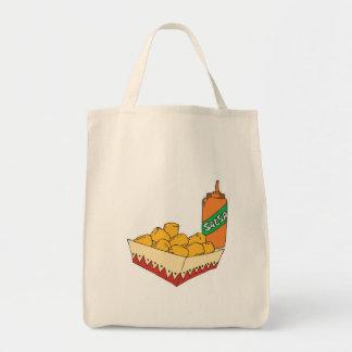 bebés del tater de la patata con salsa bolsa tela para la compra