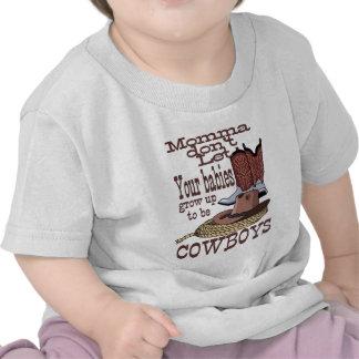 bebés del vaquero del atv de Sony Camiseta