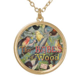 Bebés en la madera colgantes personalizados