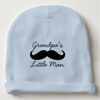 Bebés lindos del pequeño bigote del hombre del gorrito para bebe