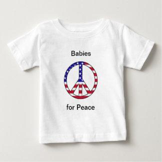 Bebés para la paz playera