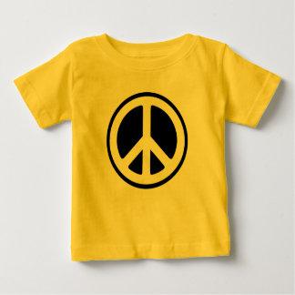 ¡Bebés para la paz! Playera De Bebé